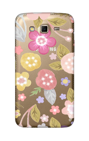 Multi Coloured Bling Floral Samsung Grand 2 Cases & Covers Online