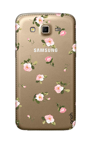 Pink Rose All Over Samsung Grand 2 Cases & Covers Online