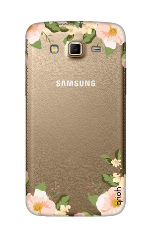 Flower In Corner Samsung Grand 2 Cases & Covers Online