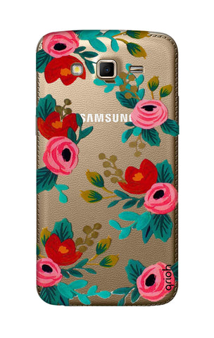 Red Floral Samsung Grand 2 Cases & Covers Online