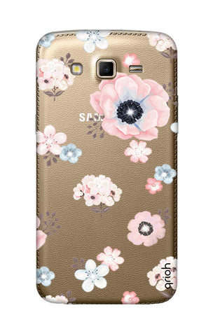 Beautiful White Floral Samsung Grand 2 Cases & Covers Online