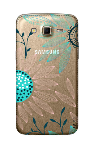 Pink And Blue Petals Samsung Grand 2 Cases & Covers Online