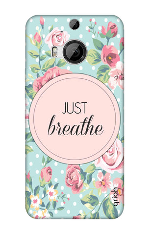 Vintage Just Breathe HTC M9 Plus Cases & Covers Online
