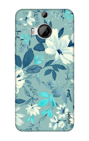 White Lillies HTC M9 Plus Cases & Covers Online