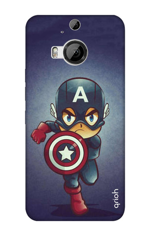 Toy Capt America HTC M9 Plus Cases & Covers Online