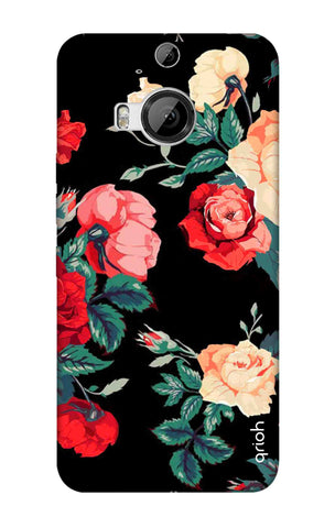 Floral Pattern HTC M9 Plus Cases & Covers Online