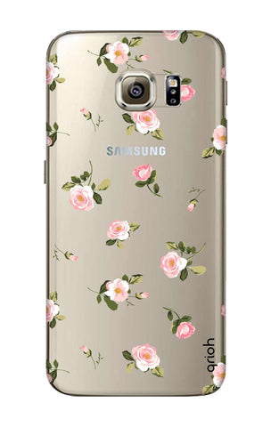 Pink Rose All Over Samsung S7 Cases & Covers Online