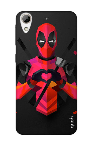 Valentine Deadpool HTC 626 Cases & Covers Online