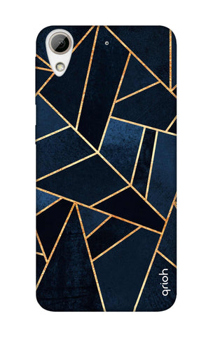 Abstract Navy HTC 626 Cases & Covers Online