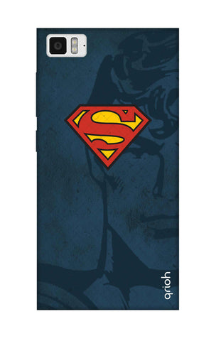 Wild Blue Superman Xiaomi Mi 3 Cases & Covers Online