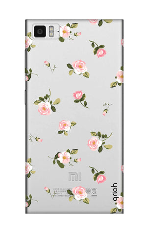 Pink Rose All Over Xiaomi Mi 3 Cases & Covers Online