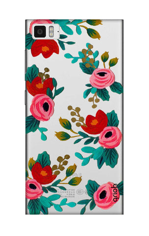 Red Floral Xiaomi Mi 3 Cases & Covers Online