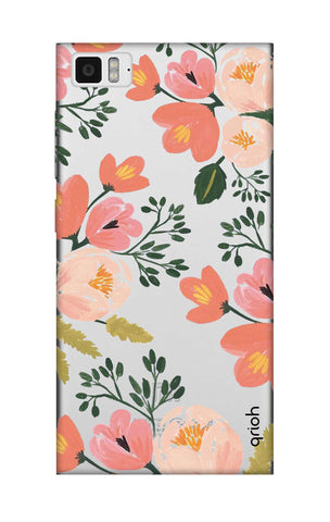 Painted Flora Xiaomi Mi 3 Cases & Covers Online