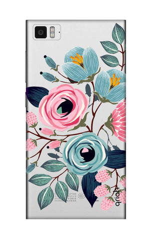 Pink And Blue Floral Xiaomi Mi 3 Cases & Covers Online