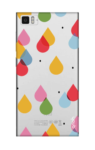 Colourful Drops Xiaomi Mi 3 Cases & Covers Online