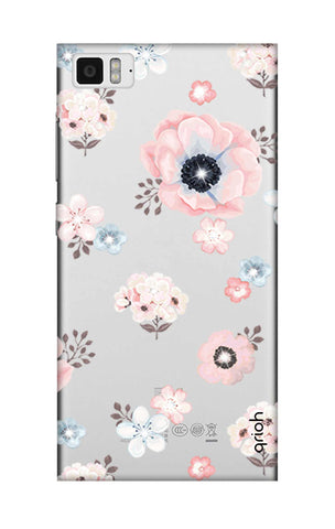 Beautiful White Floral Xiaomi Mi 3 Cases & Covers Online