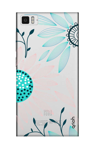 Pink And Blue Petals Xiaomi Mi 3 Cases & Covers Online