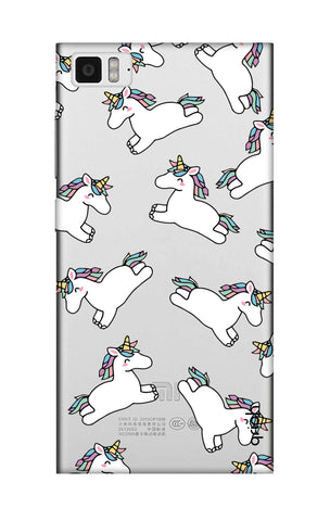 Jumping Unicorns Xiaomi Mi 3 Cases & Covers Online