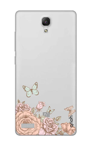 Flower And Butterfly Xiaomi Redmi Note Cases & Covers Online