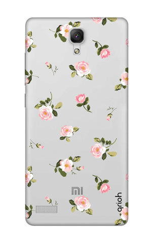 Pink Rose All Over Xiaomi Redmi Note Cases & Covers Online
