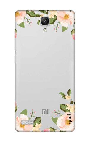 Flower In Corner Xiaomi Redmi Note Cases & Covers Online