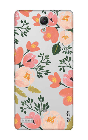Painted Flora Xiaomi Redmi Note Cases & Covers Online