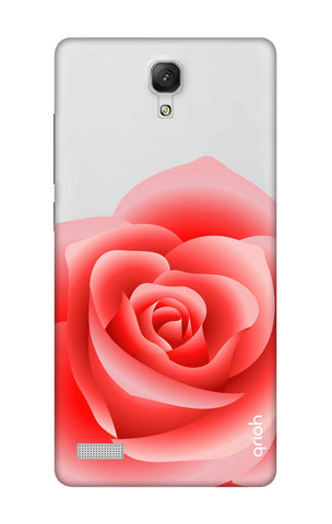 Peach Rose Xiaomi Redmi Note Cases & Covers Online