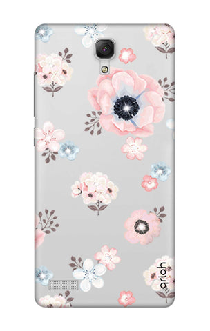 Beautiful White Floral Xiaomi Redmi Note Cases & Covers Online