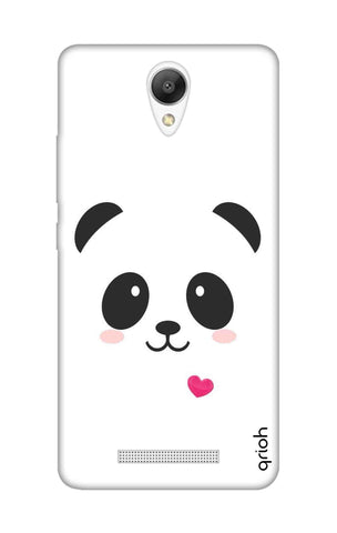 Panda Heart Xiaomi Redmi Note 2 Cases & Covers Online
