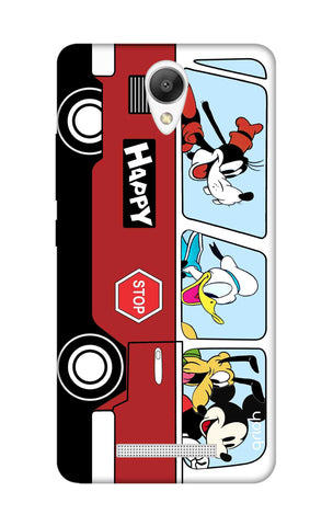 Cartoon Bus Xiaomi Redmi Note 2 Cases & Covers Online