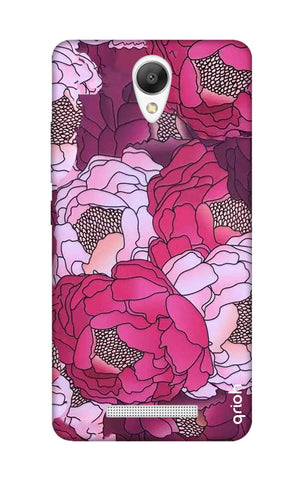 Vector Floral Xiaomi Redmi Note 2 Cases & Covers Online