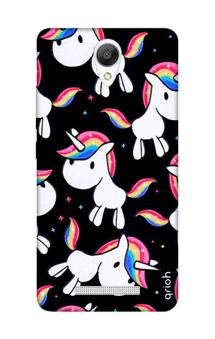 Colourful Unicorn Xiaomi Redmi Note 2 Cases & Covers Online