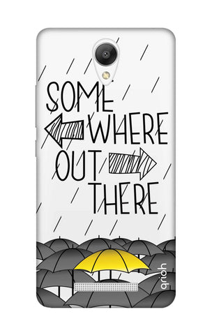 Somewhere Out There Xiaomi Redmi Note 2 Cases & Covers Online