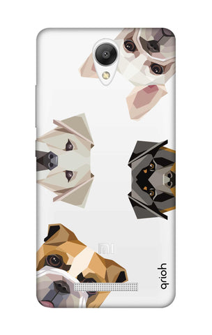 Geometric Dogs Xiaomi Redmi Note 2 Cases & Covers Online