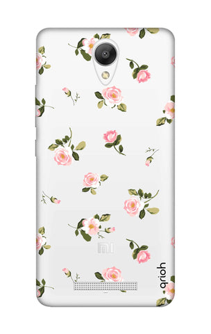 Pink Rose All Over Xiaomi Redmi Note 2 Cases & Covers Online