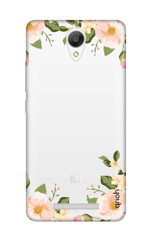Flower In Corner Xiaomi Redmi Note 2 Cases & Covers Online
