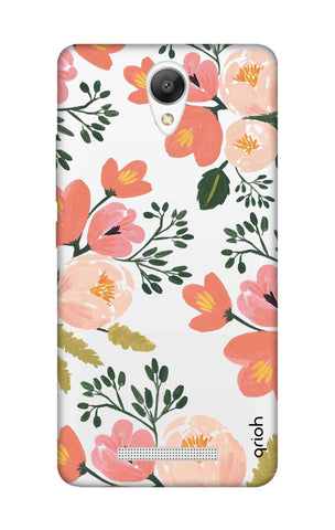 Painted Flora Xiaomi Redmi Note 2 Cases & Covers Online