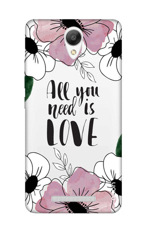 All You Need is Love Xiaomi Redmi Note 2 Cases & Covers Online