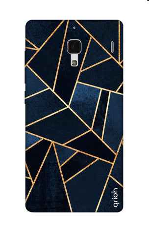 Abstract Navy Xiaomi Redmi 1S Cases & Covers Online