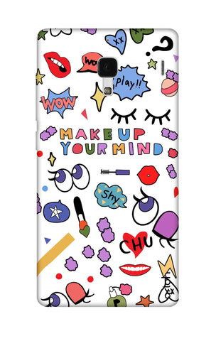 Makeup Your Mind Xiaomi Redmi 1S Cases & Covers Online