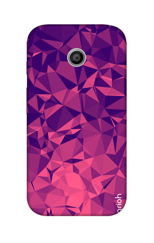 Purple Diamond Motorola Moto E Cases & Covers Online