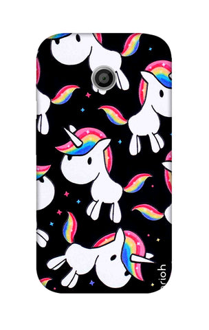 Colourful Unicorn Motorola Moto E Cases & Covers Online
