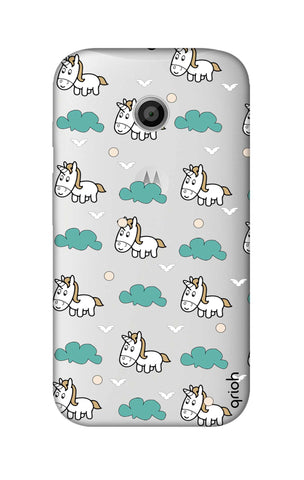 Unicorn In The Clouds Motorola Moto E Cases & Covers Online