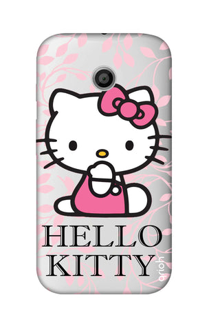 Hello Kitty Floral Motorola Moto E Cases & Covers Online