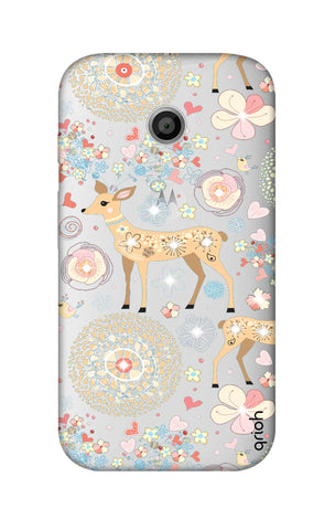 Bling Deer Motorola Moto E Cases & Covers Online