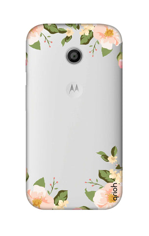 Flower In Corner Motorola Moto E Cases & Covers Online