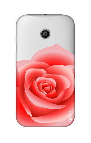 Peach Rose Motorola Moto E Cases & Covers Online
