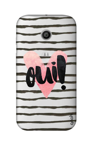Oui! Motorola Moto E Cases & Covers Online