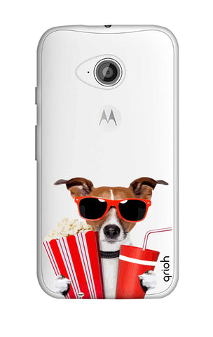Dog Watching 3D Movie Motorola Moto E2 Cases & Covers Online