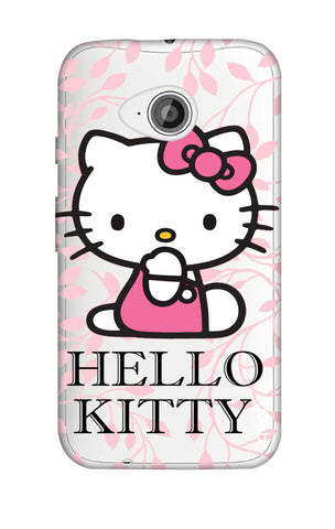 Hello Kitty Floral Motorola Moto E2 Cases & Covers Online